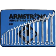 Armstrong® Tools 15 Piece 12 Point Long Combination Wrench Set