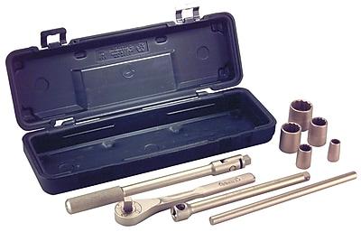 Ampco® Safety Tools 9 Piece Socket Set, 1/2