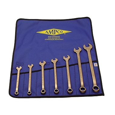 Ampco® Safety Tools 7 Piece Combination Wrench Set
