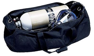 Allegro® Black Heavy Duty Nylon SCBA Storage Bag