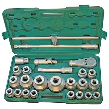 Pony® 26 Piece Standard Jumbo Socket Set, 0.75