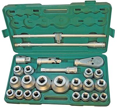 Pony® 26 Piece Standard Jumbo Socket Set, 0.75