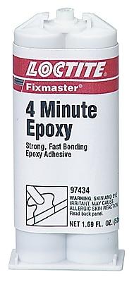 Loctite® Henkel Fixmaster® 50 ml 4 Minute Epoxy, Each