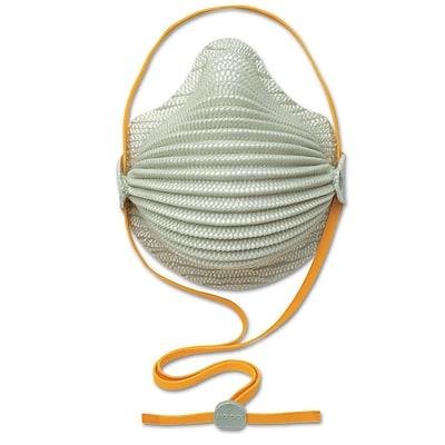 Moldex® White Airwave N95 Disposable Respirator, Medium/Large