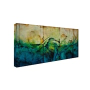 "Trademark CH Studios ""Paradise"" Gallery-Wrapped Canvas Art, 24"" x 47"""