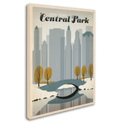 "Trademark Anderson ""NY Central Park"" Gallery-Wrapped Canvas Art, 14"" x 19"""