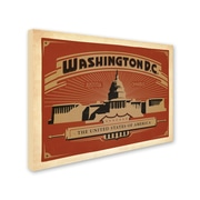 "Trademark Anderson ""Washington DC II"" Gallery-Wrapped Canvas Art, 35"" x 47"""