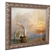 "Trademark Joseph Turner ""The Fighting Temeraire"" Ornate Framed Arts"