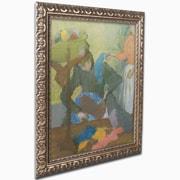 """Trademark Edgar Degas """"At the Milliner's, 1899"""" Ornate Framed Art, 16"""" x 20"""""""