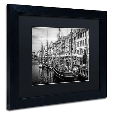 Trademark Erik Brede Black Matte W/Black Frame