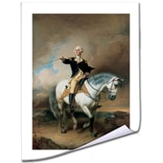 "Trademark John Faed ""Portrait of George Washington"" Canvas Rolled Art, 18"" x 24"""