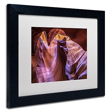 Trademark Pierre Leclerc White Matte W/Black Frame
