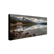 "Trademark Pierre Leclerc ""Jasper Reflection"" Gallery-Wrapped Canvas Art, 10"" x 19"""