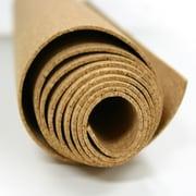 Ghent Natural Cork Roll; 4' H x 12' W x 0.25'' D