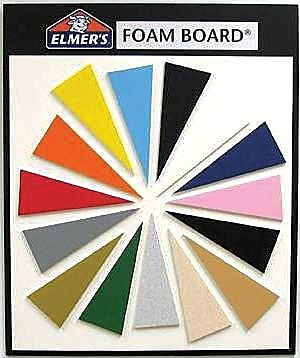 ELMER'S PRODUCTS, INC. Foam Wall Mounted Bulletin Board; White