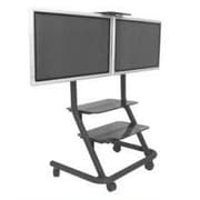 Chief Dual Display Video Conferencing AV Cart