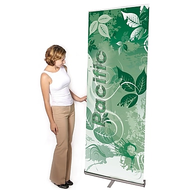 Exhibitor's Hand Book Multiple Size Pacific Banner Stand; 31.5''