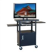 Hamilton Buhl Flat Panel AV Cart w/ Locking Cabinet