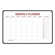 Ghent Monthly Planner Whiteboard, 2' H x 3' W