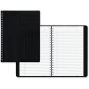 "Blueline Duraflex Notebook, 160 pages, 8-1/2"" x 11"", Black"