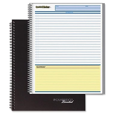 Hilroy Mead QuickNotes One Subject Action Planner, 8-1/2