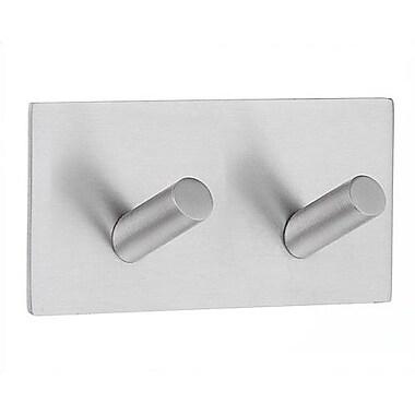 Smedbo Beslagsboden Double Wall Mounted Design Self Adhesive Double Hook