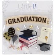 Little B™ Decorative Large Stickers, Graduation