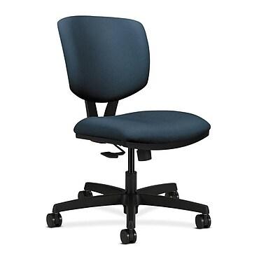 HON Volt Fabric Computer and Desk Office Chair, Armless, Cerulean (HON5723HCU90T)