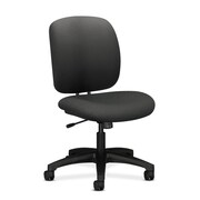HON ComforTask Chair, Center-Tilt, Iron Ore Fabric NEXT2018 NEXT2Day