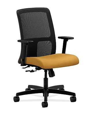 HON® Ignition® Mesh Low-Back Office/Computer Chair, Mustard