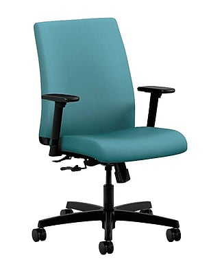 HON® Ignition® Low-Back Office/Computer Chair, Glacier