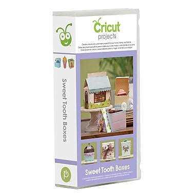 Cricut Everyday Scrapbooking Cartridge, Sweet Tooth Boxes