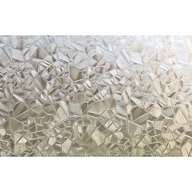 Brewster Mosaic Static Cling Sidelight Privacy Film