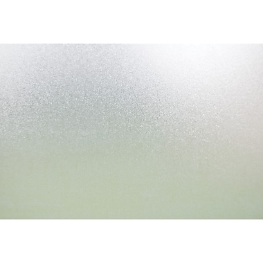 Brewster Sand Static Cling Door Privacy Film