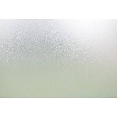 Brewster Sand Static Cling Window Privacy Film