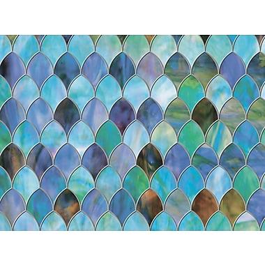 Brewster – Pellicule électrostatique de qualité supérieure pour fenêtre, motif paon