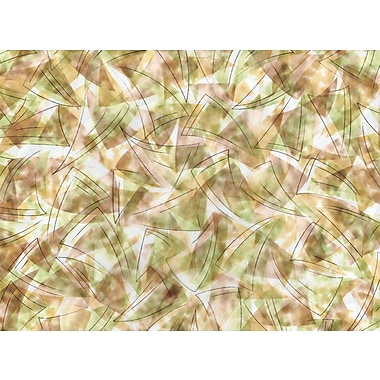 Brewster Brushstrokes-Door Static Cling Premium Film