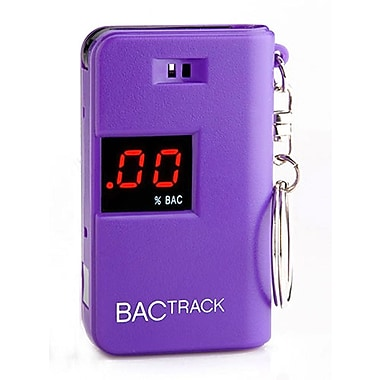 BACtrack Breathalyzer Keychain (BT-KC10), Purple