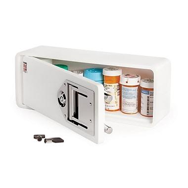Medicine Safe Personal Safe, White