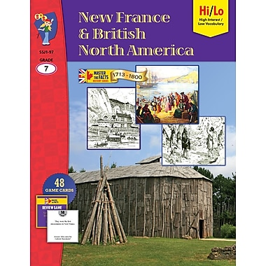 New France & British North America 1713-1800, 7e année, anglais
