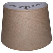Lamp Factory 18'' Burlap Drum Lamp Shade