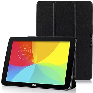i-Blason ASTF103C-3F-BLK Slim Hard Shell Stand Case for Asus Transformer Pad Tablet, Black