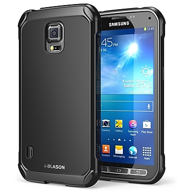 i-Blason SoftGel Flexible TPU Case For Galaxy Samsung S5 Active, Black