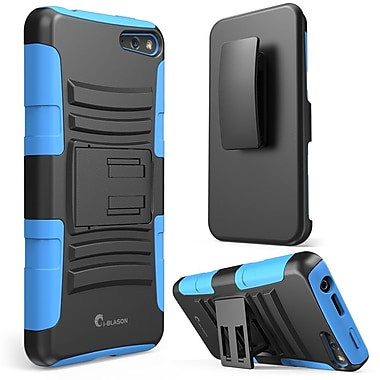i-Blason Prime Series Dual Layer Holster Case With Kick Stand For Amazon Fire Phone, Blue