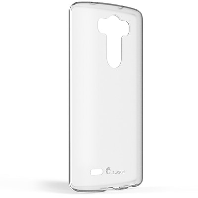 i-Blason Scratch Resistant Hybrid Hard Back Case With TPU Bumper For LG G3, Frost