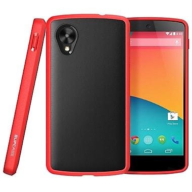 SUPCase Unicorn Beetle Premium Hybrid Protective Case For Google Nexus 5, Black/Red