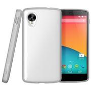 SUPCase Unicorn Beetle Premium Hybrid Protective Case For Google Nexus 5, White/Gray