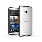 SUPCase Premium Hybrid Protective Case For HTC One M7 Smartphone, Clear/Black
