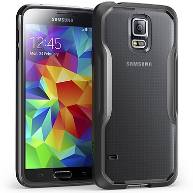 SUPCase Unicorn Beetle Premium Hybrid Protective Case For Samsung Galaxy S5, Clear/Black