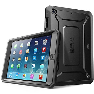 SUPCase SUP-MN2-DEF-BK Polycarbonate/TPU Unicorn Beetle Pro Full-Body Protective Case for iPad Mini 3, Black
